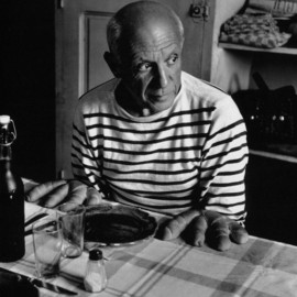 Robert Doisneau - Picasso and the loaves