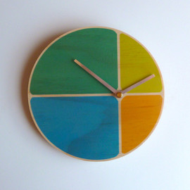 ObjectifyHomeware - Segments Wall Clock