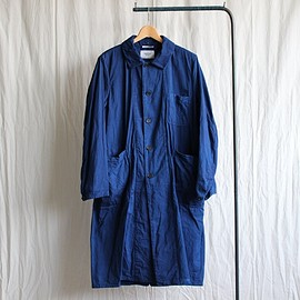 YAECA - Over Coat #indigo dye