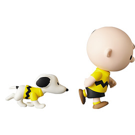 MEDICOM TOY - UDF PEANUTS シリーズ11 CHARLIE BROWN & SNOOPY