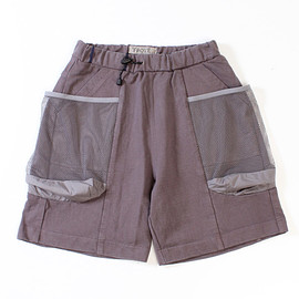 TROVE - TROVEx岡部文彦 / BIG POCKET SHORTS Ver:6 ( TYPE RELAX ) / CHARCOAL