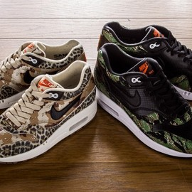 atmos x Nike Air Max 1 Animal Camo Pack Capsule Collection