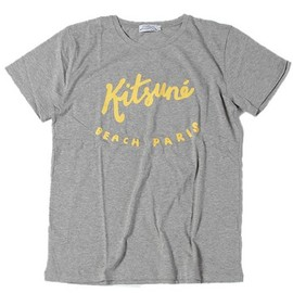 KITSUNE TEE - BEACH PARIS