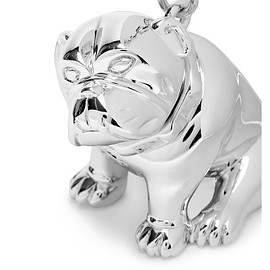 Dunhill - Metallic Bulldog Key Ring