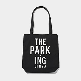 THE PARK•ING GINZA - SOUVENIR TOTE (SMALL) BLACK