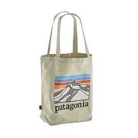 patagonia - Market Tote, Line Logo Ridge: Bleached Stone (LRBS)