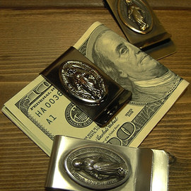 """KRAZY ROD, クレイジーロッド - MONEY CLIP """"MEDAILLE MIRACULOUS"""""""
