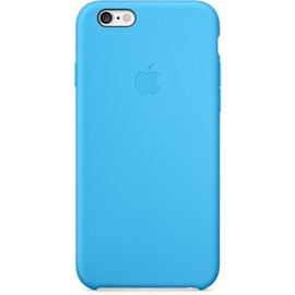 Apple - iPhone6 Silicone Case Blue