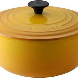 Le Creuset - Le Creuset ココット・ロンド 24cm ディジョンイエロー 2501-24