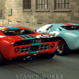 Ford - Ford GT40s gulf