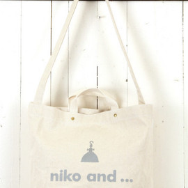 niko and... - ニコロゴ2WAYBAG
