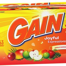 GAIN - Joyful Expressions Powder Detergent - Apple Mango Tango