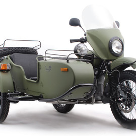 Ural Taiga - Ural Taiga 2WD Limited Edition Sidecar Motorcycle Ural Motorcycles   Russian Off Road Sidecars