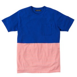 MR.GENTLEMAN - MR.GENTLEMAN - PLAIN COLOR×BORDER TEE