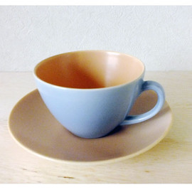 Poole - Twintone Cup&Saucer