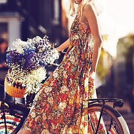Free People - Florals Maxi Dress