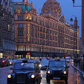 London, UK - Harrods