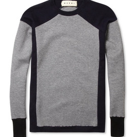 MARNI - Marni Contrast-Panel Sweater