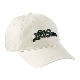 L.L.Bean - COTTON BASEBALL HAT LOGO