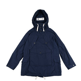 ENGINEERED GARMENTS - Over Parka-Weather Poplin-Navy