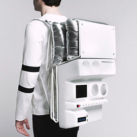 Atelier TERATOMA - Atelier TERATOMA's Astronaut-Inspired Technopicnic Backpack
