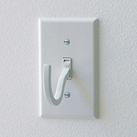 Amron Experimental - Off light switch hook by Scott Amron