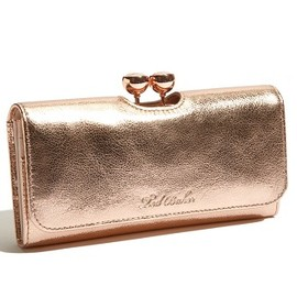 Ted Baker - Minnie Bobble Matinee Wallet (Rose Gold)
