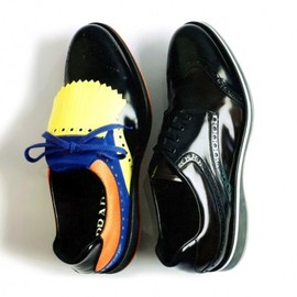 PRADA - Wingtip Brogue Sneakers