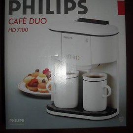Philips - CAFE DUO HD 7100
