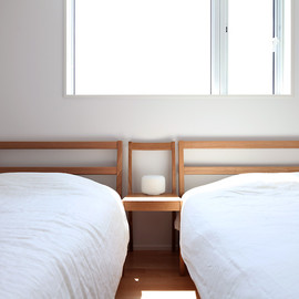MUJI - simple bedroom