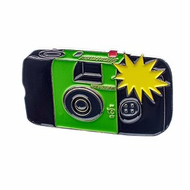 Official Exclusive - Flashing Disposable Camera #1 Pin