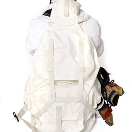 "RAF SIMONS - 2008 Spring/Summer ""Material World"" Collection by Eastpak"