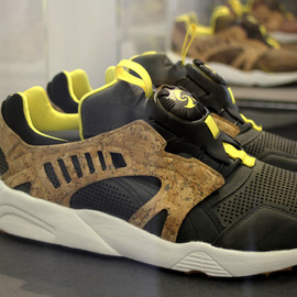 Puma - Disc Blaze (Cork Pack) - Black/Cork/Yellow/Gum