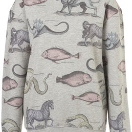 TOPSHOP - Mystical Animals Sweat By Tee and Cake
