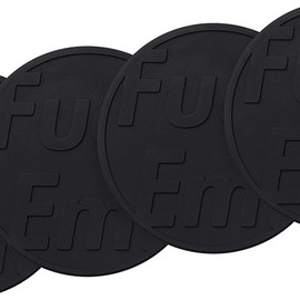 Supreme - fallwinter'14 Fuck'Em Coasters (Set of 4)