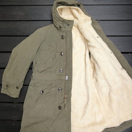 US.ARMY - M1947 Overcoat, Parka Type