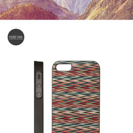 man and wood - iPhone case
