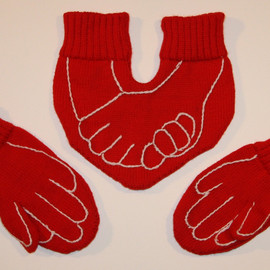 warmpresents - Funny Dual Gloves for HIM and HER