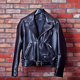 CHROME HEARTS - Leather Riders Jacket