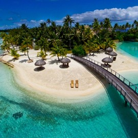 French Polynesia - Intercontinental Hotel and Thalasso Spa in Bora Bora