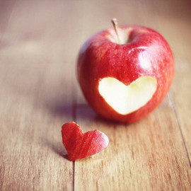 MarianneLoMonaco - Red Apple heart