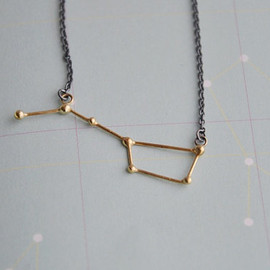 Twinklebird - Ursa Major / Big dipper necklace by