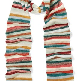 Chloé - Striped knitted scarf
