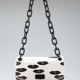 PRADA - Black Lip Shoulder Bag
