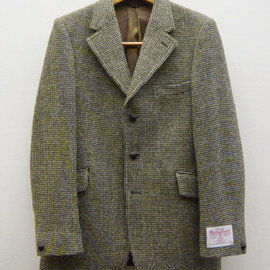 ANATOMICA - 3B JACKET / SHORT  - Harris Tweed - Color : Olive