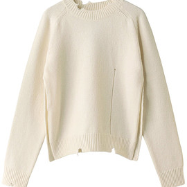 Maison Margiela - Destroy wool sweater