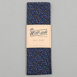 The Hill-Side - American Calico Floral Print Bandana Navy