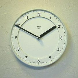 BRAUN - Wall Clock 4780/ABK20