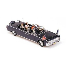 minichamps - Diecast Model Lincoln Continental JFK Presidential Limousine in Dark Blue