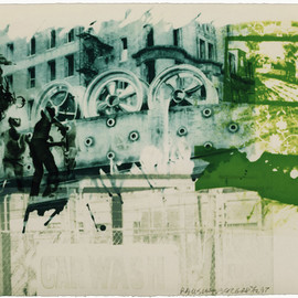 Robert Rauschenberg - Rotary Drive(Ground Rules)